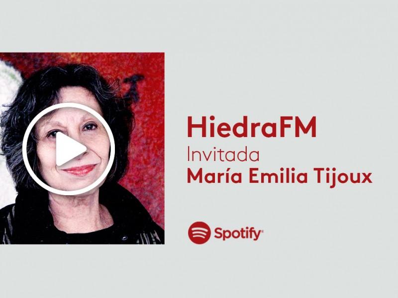 María Emilia Tijoux en HiedraFM
