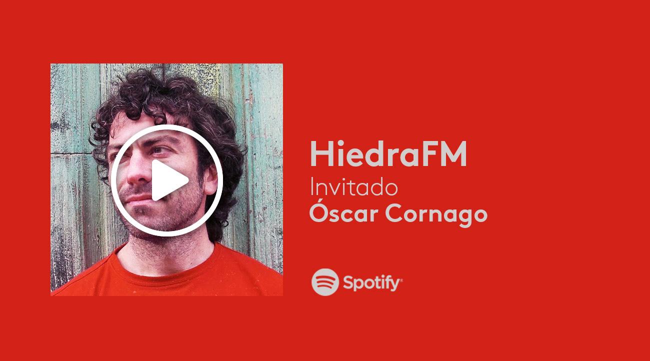 Óscar Cornago en HiedraFM