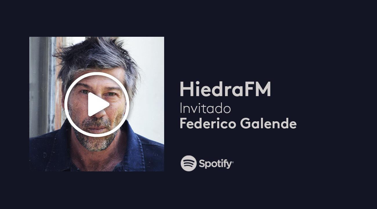 Federico Galende en HiedraFM