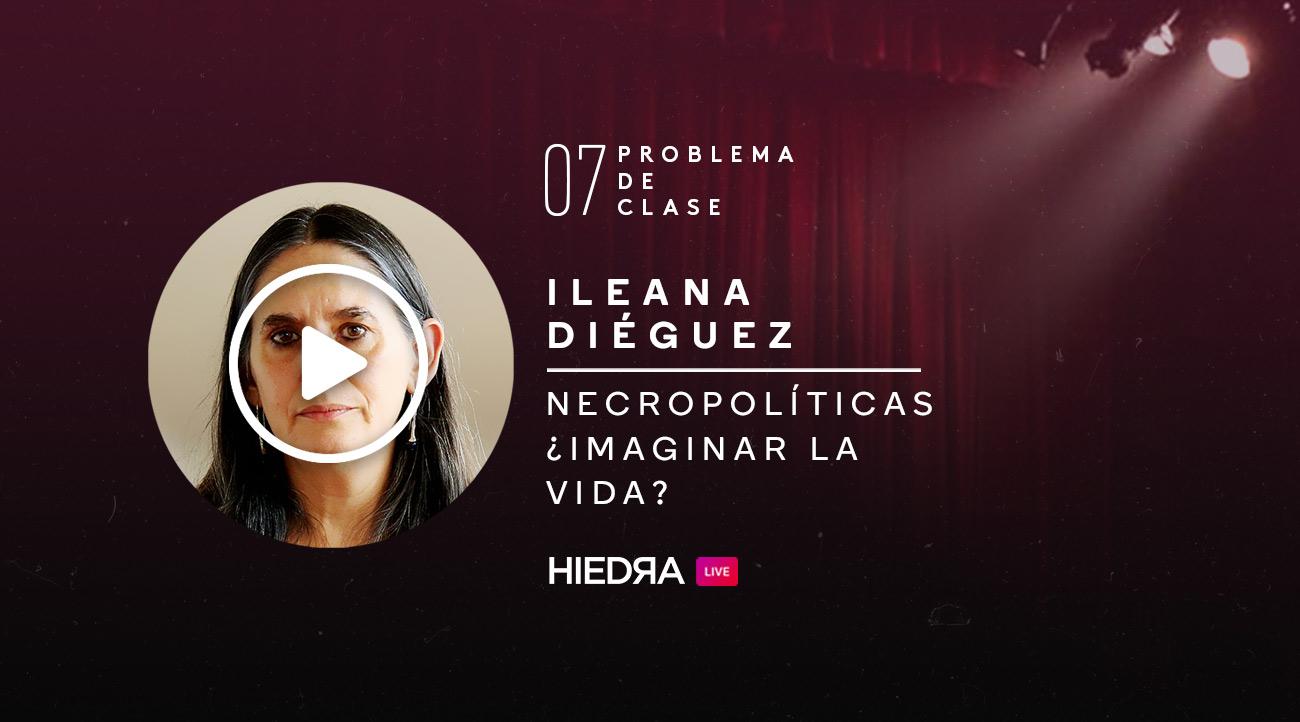 Ileana Diéguez en Problema de Clase