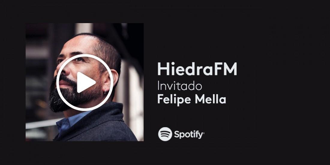 Felipe Mella GAM en HiedraFM
