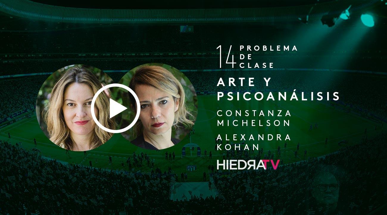 arte y sicoanálisis Constanza Michelson y Alexandra Kohan