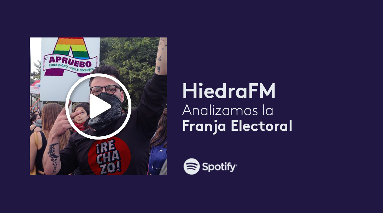 franja electoral analizada en HiedraFM