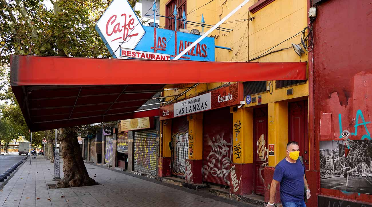música restaurantes COVID Chile